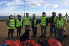 Yaverland Litter Pick - Dropping Everything