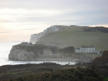 Freshwater Bay and Tennyson Down
